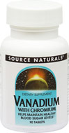 Vanadium 1 mg with Chromium GTF 200 mcg