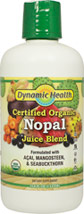 Organic Nopal Prickly Pear Juice Blend