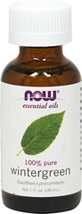 Wintergreen 100% Pure Essential Oil <b><p>From the Manufacturer: </b></p><p>• Ingredients:  100% pure wintergreen oil</p> <p>• Aroma:  Warm, sweet</p> <p>• Benefits:  Stimulating, refreshing, uplifting</p> 1 oz Oil  $9.99