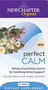 Perfect Calm Multivitamins <p>From the Manufacturer's Label:</p> <p>Whole-Food Multivitamin for Soothing Stress Support**</p><p> Vegetarian </p><p>Gluten Free</p> 72 Tablets  $22.99