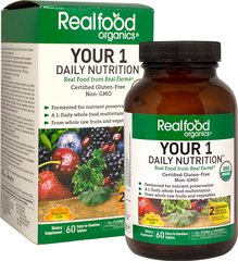Realfood Organics® Your 1 Daily Nutrition™ Whole Food Multivitamin