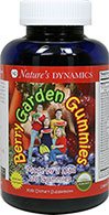 Berry Garden Kids™ Multi Gummy <strong></strong><p><strong>From the manufacturer's Label:</strong></p><p>Nature's Dynamics utilizes the Science of Nature in all of its gummy supplements.</p><p>Berry Garden Multi Gummy is 2 products in 1 formula.</p><p>A 100% natural, great-tasting, easy-to-digest organic multi Gummy + Garden blend grown in certified organic ingredients.</p><p>Berry Garden Multi Gummy contains o