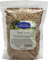 Green Lentils Green Lentils are great in soups, stews or by themselves.  Lentils are low in fat and high in protein and fiber. 16 oz Bag  $2.49