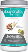 Whey Protein Vanilla Praline <p><b>From the Manufacturer's Label:</b></p> <p>Whey Protein Chocolate is manufactured by Designer Whey.</p> <p>Available in Chocolate, Vanilla, Double Chocolate and Vanilla Praline  flavors.</p> 2 lbs Powder  $22.99