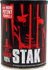 "Animal Stak™ <p><b>From the Manufacturer's Label:</b></p>  <p><b>WHAT ANIMAL STAK™ IS:</b> Hard gainer. You're a hard worker and you give it everything you got 24/7 but the gains are hard to come by. As a classic hard gainer, you train big and you eat big, but you have little to show for it. Animal M-Stak is a non-steroidal product geared specifically for you. Through its unique set of properties, most notably ""nutrient-partitioning"", Animal M-Stak h"