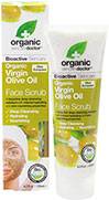 Organic Virgin Olive Oil Face Scrub