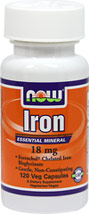 Iron Bisgylcinate 18 mg Ferrochel® Chelate <p><b>From the Manufacturer's Label:</b></p> <p>Essential Mineral</p> <p>Ferrochel® Chelated Iron Bisglycinate</p> <p>Gentle, Non-Constipating</p> <p>Vegetarian Formula</p> <p>We utilize the superior Albion Labs patented Ferrochel® Iron Chelate, which research has demonstrated to be highly absorbed, well tolerated and non-constipating at recommended level