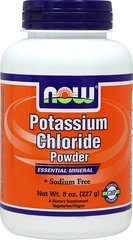 Potassium Chloride 730 mg Powder <p><b>From the Manufacturer's Label:</b></p> <p>Table Salt Substitute</p> <p>Sodium Free</p> <p>Necessary For Normal Kidney Functions**</p> <p>Potassium Chloride from NOW is a sodium-free potassium supplement that can be used as a table salt substitute. Potassium is a mineral and is the principal positive ion in cells. It is used by your body to support muscle contraction, normal kidney functio
