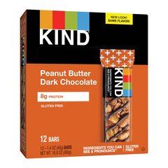 Kind + Peanut Butter Dark Chocolate + Protein