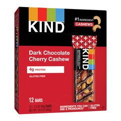 Kind+ Dark Chocolate Cherry Cashew Antioxidants Bars