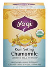 Organic Comforting Chamomile Tea  <p><b>From the Manufacturer's Label:</b></p> <p>Let the stesses of the day float away as you sip a cup of our all organic Comforting Chamomile tea.  Worshipped for its healing properties by the ancient Egyptians and revered by the Greeks as magical, Chamomile has been used for centuries as a relaxing and soothing herb.  Today we recognize the wisdom of these ancient cultures and use only the finest organic chamomile in our tea.