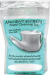"Nasal Cleansing Salt <p><b>From the Manufacturer's Label: </p></b><p>Non-Iodized Pure Salt</p> <p>For the practice of nasal cleansing and moisturizing of nasal passages, also known as ""neti"".</p> 8 oz Salt  $1.99"