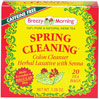 "Spring Cleaning Tea <p><b>From the Manufacturer's Label: </p></b><p>We take our bodies for granted until they send out signals of distress.  Quite often all that is needed is a good ""Spring Cleaning"" to set everything right again.  Spring  Cleaning's delicious herbal mix gently and effectively helps to get you going again...allowing your body to more effectively use the nutrients you consume.**  Thus, Spring Cleaning acts as a regulator, providing"