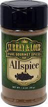Allspice <p>Allspice has it all — hence its name! This aromatic spice is reminiscent of a harmonious blend of cloves, cinnamon and nutmeg – with a peppery accent. Native to the West Indies, Allspice is featured prominently in Caribbean cooking, especially in jerk and barbeque dishes, as well as in baked goods.</p> 1.9 oz Other  $5.50