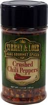 Crushed Chili Peppers <b><p> From the Manufacturer:</b></p>Crushed Chili Peppers are often the stimulating force behind a spicy dish's kick. Our Crushed Chili Peppers are comprised of the crushed seeds and pods of a hot capsicum (red pepper). These crushed chilies are milder than cayenne and are one of the most versatile spices out there. Known for their fiery zest, our all-natural Crushed Chili Peppers are a must for any pepper lover's kitchen. Chili peppers get their he