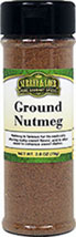 Ground Nutmeg <p>Traditionally, nutmeg has been in continuous use for thousands of years. It can be added to everything from sausages, meats and soups to preserves, cakes, and sweets. Nutmeg is also commonly added to eggnog, puddings, and fruit pies. It is popular in The Netherlands and Italy, where it is used in vegetables, puddings, and stews.</p><p>Cuisine: Spanish, Caribbean, French, Italian, Chinese & East Asia, Thai, Indian</p> 1.9 oz Ground  $7.64
