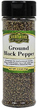 Ground Black Pepper <b><p> From the Manufacturer:</b></p><p>As perhaps the most universal of all the spices, black pepper has a hot, spicy flavor that complements almost any meal.  Surrey & Loeb searches out the finest herbs and spices in the world to give you a medley of flavors to create your culinary masterpieces.  Whether you add a pinch, dash or simply a smidgen, your recipe desires nothing less than the best.</p> 1.7 oz Pepper  $5.09