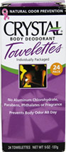 Crystal® Body Deodorant Towelettes