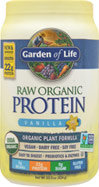 Raw Protein Vanilla <p><b>From the Manufactuer's Label:</b></p> <p>Raw Protein manufactured by Garden of Life.</b> 1 lb Powder  $28.99