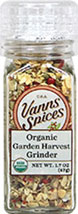 Organic Garden Harvest Seasoning <B>From The Manufacturers Label:</B> <P>Grind just before using for optimum freshness.  Easy way to add vegetable flavors to soups, stews, pilafs or chicken dishes.    No Preservatives, No Irradiation.</P>  1.7 oz Grinder  $12.99