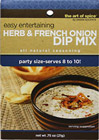 Herb & French Onion Dip Mix
