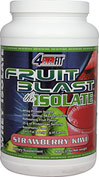 Fruit Blast Isolate Protein Strawberry Kiwi <p><b>From the Manufacturer's Label: </p></b><p>Whey Protein Isolate</p> <p>Great Tasting, Mixes Instantly</p> <p>24 g of Protein per Serving</p> <p>Aspartame Free</p> <p>Zero Fat & Only 1 g of Carbs</p>   <p>4EVER® FIT's Fruit Blast™the Isolate uses a unique combination of cross-flow ultrafiltration and advanced microfiltration. This gentle process e