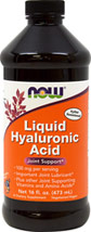Hyaluronic Acid Liquid 100 mg <p><strong>From the Manufacturer's Label:</strong></p><p>Hyaluronic Acid is a lubricant present in every tissue of the body, with the highest concentrations occurring in connective tissues such as skin and cartilage.  Our formula combines this essential component with Vitamin D and other nutrients essential for the formation of collagen found in cartilage and connective tissue to support optimal joint health.**</p><p>Man