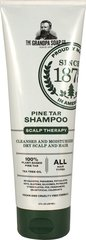 Pine Tar Shampoo <p><strong>From the Manufacturer's Label</strong></p><p>Helps to Remove Flakes of Dandruff, Seborrhea & Psoriasis</p><p>Manufactured by Grandps's.</p> 8 fl oz Shampoo  $7.49