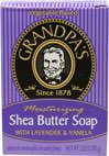 Shea Butter Soap With Lavender & Vanilla <p><b>From the Manufacturer's Label:</b></p>  <p>Moisturizing</p>  <p>Shea Butter soap with Lavender & Vanilla is a captivating comfort soap. Shea Butter, rich in Vitamins A & E and natural UV protection, is helpful for  the skin.</p>   <p>Nourish your skin with Shea Butter's intense moisturizing action while the luscious aroma of Lavender and Vanilla soothe your frayed nerves.</