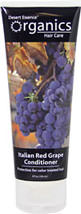 Italian Red Grape Conditioner <p><b>From the Manufacturer's Label:</b></p>  <p>Desert Essence® Organics Italian Red Grape Conditioner is a fast penetrating, natural conditioner that is able to protect both color and non-color treated hair from damage done by environmental stressors such at the sun.  Antioxidants are able to act as UV filters to protect the hair.</p>  <p><b>Organic Grape Extract: </b> Organic grape extract is extra