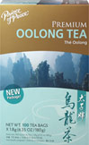 Premium Oolong Tea <p><strong>From the Manufacturer's Label: </strong></p><p>Oolong Tea is is also know as Wu-Long tea. This tea in semi-fermented, combining the best qualities of black and green teas. Prince of Peace Oolong tea is hand-picked, delightly aromatic with a mild flavor and bright golden color.<br /></p> 100 Tea Bags  $10.99
