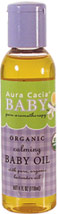 Calming Baby Oil Enhance the touch your baby loves so much.   Use this pure-as-can-be oil to provide natural nourishment to the most tender skin.  Luxurious, non-greasy jojoba and sunflower oils gently deliver the relaxing benefits of lavender, chamomile and marjoram.<br>100% Pure Essential Oils.  Not tested on Animals.  No Synthetic Preservatives, Colors or Fragrances.  Paraben-Free  4 oz Liquid