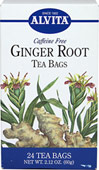 "Ginger Root Tea <strong></strong><p><strong>From the Manufacturer:</strong></p><p>Caffeine Free</p><p>Ginger (Zingiber officinale) is a tropical perennial that grows from an aromatic, tuberous rhizome that is knotty shaped and buff colored.  The name Ginger is derived from the Sanskrit ""gringa"" or horn and ""vera"" meaning body, in reference to the shape of the root.  Ginger has a recorded history of use in China dating from"