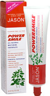 Powersmile® All Natural Whitening Toothpaste <p><strong>From the Manufacturer's Label</strong></p><p>Powersmile® All Natural Whitening Toothpaste is manufactured by Jason® Natural Products.</p> 6 oz Paste  $4.19