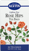 "Rose Hips Tea <b><p>From the Manufacturer:</b></p> <p>Caffeine Free</p>  <p>Rose Hips, (Rosa canina), the fruit of the rose after the flower has bloomed and the petals have fallen, are native to Europe and North America.  Rose Hips were once referred to as ""Food of the Gods"" by the ancient Greeks and used for their varied health benefits.  During World War II, when faced with a serious shortage of fresh fruits, the governments of England, Norwa"