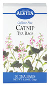 Catnip Tea <p><b>From the Manufacturer's Label: </p></b>  <p>Caffeine Free</p><p>Catnip is often enjoyed as a tea for its soothing, relaxing benefits.** Natural herb teas that are good for you and the environment.</p> 30 Tea Bags  $4.99