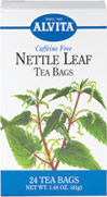 Nettle Leaf Tea <p><strong>From the Manufacturer's Label: </strong></p><p>Caffeine Free</p><p>Nettles contain vitamins A and C, iron and a variety of other minerals.** As a tea, Nettle may be taken hot or cold and many prefer it sweetened and flavored with lemon.</p><p>Natural herb teas that are good for you and the environment.</p> 24 Tea Bags  $3.99