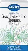 Saw Palmetto Berries Tea <p><b>From the Manufacturer's Label: </p></b> <p>Caffeine Free</p><p>A number of recent studies suggest that extracts of Saw Palmetto may be beneficial in the management of specific health concerns.** Natural herb teas that are good for you and the environment.</p> 24 Tea Bags  $4.49