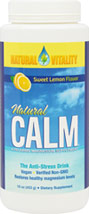 Natural Calm Lemon Flavor