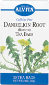 Dandelion Root Tea <p><strong>From the Manufacturer's Label: </strong></p><p>This Caffeine Free Dandelion Root tea is much more delicious than the plant! Enjoy a cup any time of day, anywhere!<br /></p> 30 Tea Bags  $6.19
