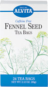 Fennel Seed Tea <p><strong>From the Manufacturer's Label: </strong></p><p>Fennel is often used with other herbs for its benefits. Enjoy a delicious cup of caffeine free fennel tea any time, anywhere!</p> 24 Tea Bags  $3.89
