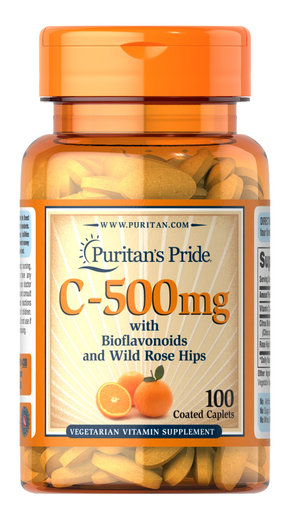 Vitamin C-500 mg with Bioflavonoids & Rose Hips <p>Vitamin C  is essential to many functions in the body and is one of the leading vitamins for immune support and helps fight cell-damaging free radicals.**   Our product also includes Rose Hips, which help the body absorb and utilize Vitamin C.**</p><p>Offers superior antioxidant support.**</p><p>Good oral health is linked to cardiovascular health. Vitamin C helps to support both healthy gums and circulatory heal