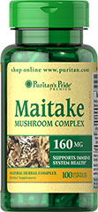 Maitake Mushroom Extract <p>Supports Immune System Health**</p><p>Puritan's Pride's preservative-free gelatin capsules contain pure milled herb powder.<br /><br />Puritan's Pride's Guarantee: We use only the finest quality herbs and spices. Each is screened and finely milled for quick release. <br /></p> 100 Capsules 150 mg $17.49