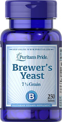 Brewer's Yeast <p>One of nature's richest foods! Brewer's Yeast is a natural source of B vitamins. Available in tablets and powder.</p> 250 Tablets 500 mg
