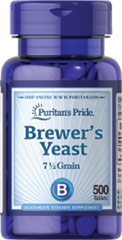 Brewer's Yeast <p>One of nature's richest foods! Brewer's Yeast is a natural source of B vitamins. Available in tablets and powder.</p> 500 Tablets 500 mg $12.99
