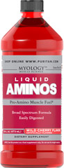 Liquid Aminos <p>The active ingredients in our Liquid Aminos have a low molecular weight – this makes them easily digested and quickly absorbed</p><p>Contains the amino acids glycine and proline in a concentration that's about 10 to 20 times higher than in any other protein</p><p>Our broad spectrum formula includes a blend of essential and non-essential amino acids</p><p>Provides support both during and after exercise**</p><p>Helps build prot
