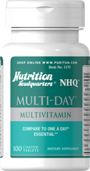 Multi-Day™ Multivitamin <p>Compare and save with this One a Day multivitamin with Beta Carotene in easy to swallow coated tablets.</p>  100 Tablets  $6.99