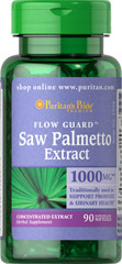 Saw Palmetto 1000 mg <p>Saw Palmetto is an extract derived from the berry of the Saw Palmetto tree and is one of the leading traditional herbs for men's health.**Saw Palmetto has been traditionally used to support prostate and urinary health in men.** Adult men can take one softgel once or twice daily.<br /></p><p></p> 90 Softgels 1000 mg $15.99