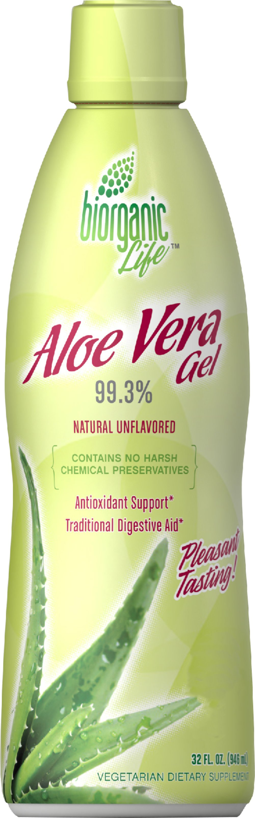 Aloe Vera Gel Drink 99.3%  32 fl oz Bottle