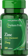 Zinc Chelate 25 mg <p>Zinc is an antioxidant that provides immune support and plays a role in over 300 enzymes in the body.** It assists in the formation of DNA, the cell's genetic material, and is essential for cell division and growth.**</p><p>Zinc offers additional benefits as it assists in the proper functioning of the hormone insulin.** Adults can take one tablet daily with a meal.</p> 100 Tablets 25 mg $4.49